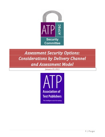 Assessment Security Options